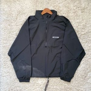 Fear of God Essentials Black Track Jacket Large